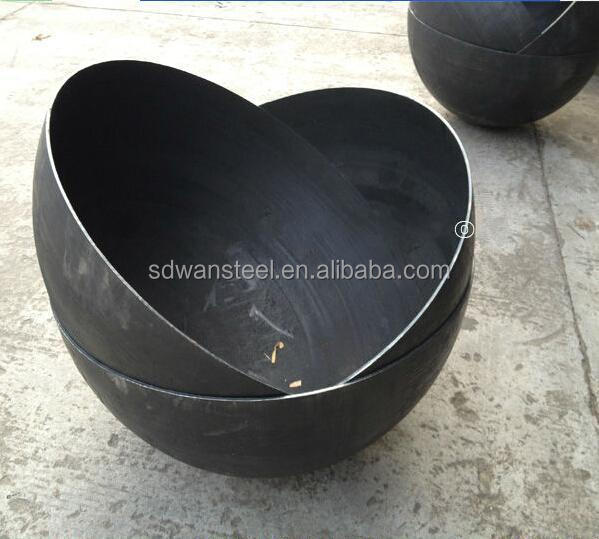 Carbon material high quality steel hemisphere manufacture in China