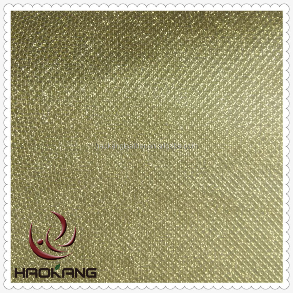 Shinning Glitter Pu Synthetic Leather