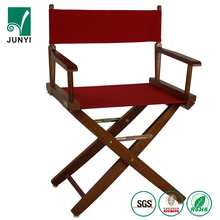 Outdoor wood relaxing make up chairs tall folding wooden director chair