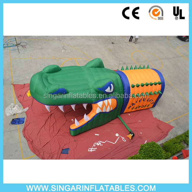 Animal inflatable tunnel tent,inflatable sports tunnel tents