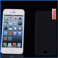 Mobile phone accessories ltra clear screen protector for iphone anti-scratch protective film