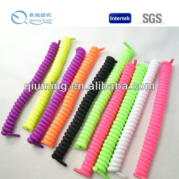 New arrival round rianbow elastic shoelaces