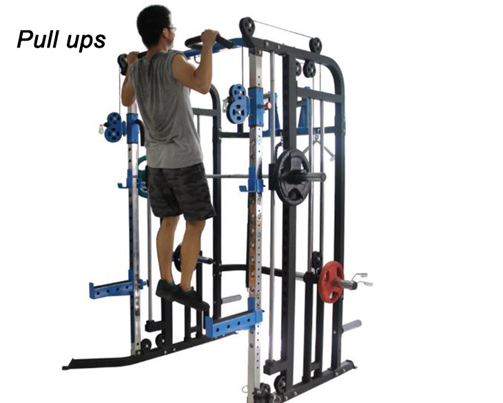 Professional multi functional gym equipment exercise for sale bearings smith machine parts