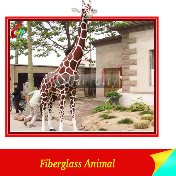 High Simulation Life size Giraffe