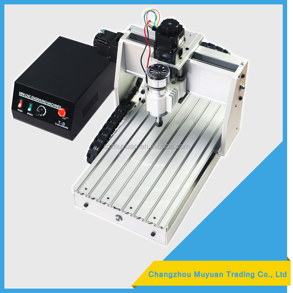 combination woodworking machines 3040 for Carving PCB / EVA and drilling and milling processing