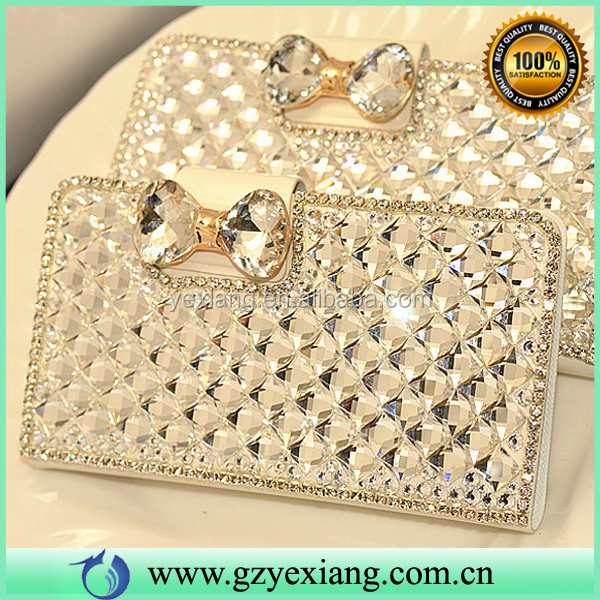 Luxury Full Rhinestone Diamond Case For Samsung Galaxy J7 Leather Case