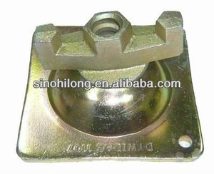 Swivel Nut Plate with Iron Nut