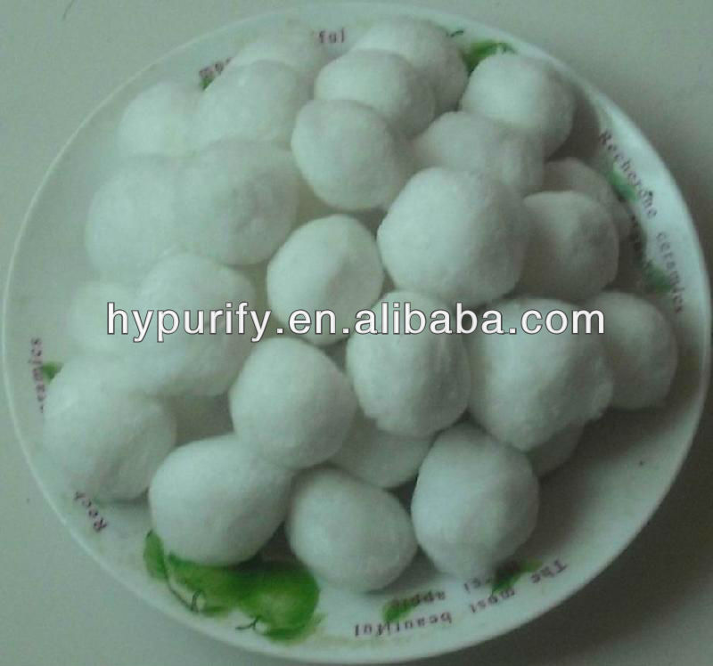 Fiber ball water purification materials on sale