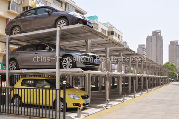 Multi-level Automated Car Parking System