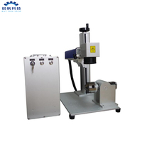 30W metal yag diode fiber mini laser marking machine price for sale