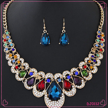 The Latest Popular Wholesale Fashion Drill Point Necklace Set