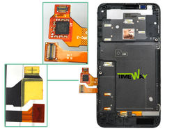 Buy from China mobile for nokia lumia 620 lcd screen digitizer frame
