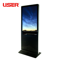 "Touch kiosk 49 "" network digital signage, shopping mall touch screen"