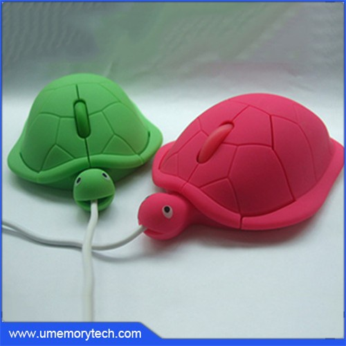 Tortoise shape cute wired mouse high quality computer mouse new arrival sale