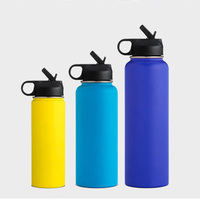 BPA Free Double Wall Insulated Stainless Steel Water Bottle 500ml 750ml 18oz 32oz