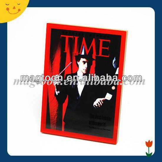 advertising clear acrylic fridge magnet