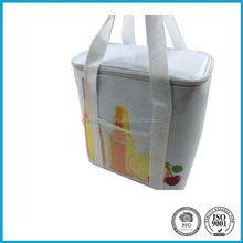 PVC Cooler Bag Lunch Bag For Frozen Food