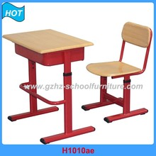 Fashion Appearance Student Study Table Chair Single Seat