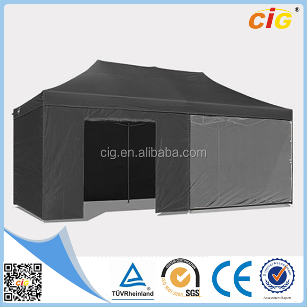 Manufacturer Price 3x6 Black Large Space Camping Family Tent