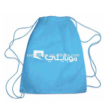 Custom waterproof exquisite non-woven storage backpack bag