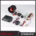 Without remote alarm upgrade alarm one way car alarm CF898UP-01 for Turkey market