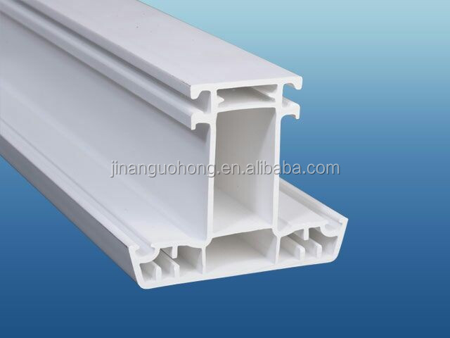 60mm casment PVC window profile for plastic window and door
