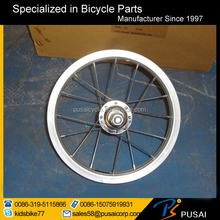 hot sell 12 inch alloy bicycle wheels with 20 spokes assembled