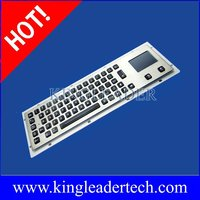 65 backlit keys metal keyboard with touchpad