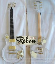 Weifang Rebon acrylic organic glass lp electric guitar