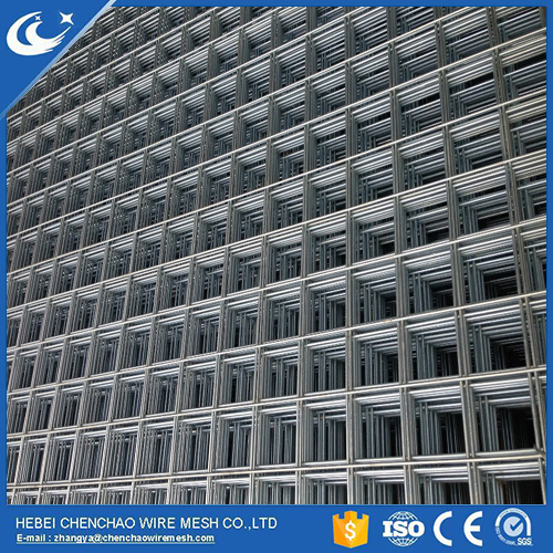galvanzied welded wire mesh fence panel in 6 gauge from anping factory