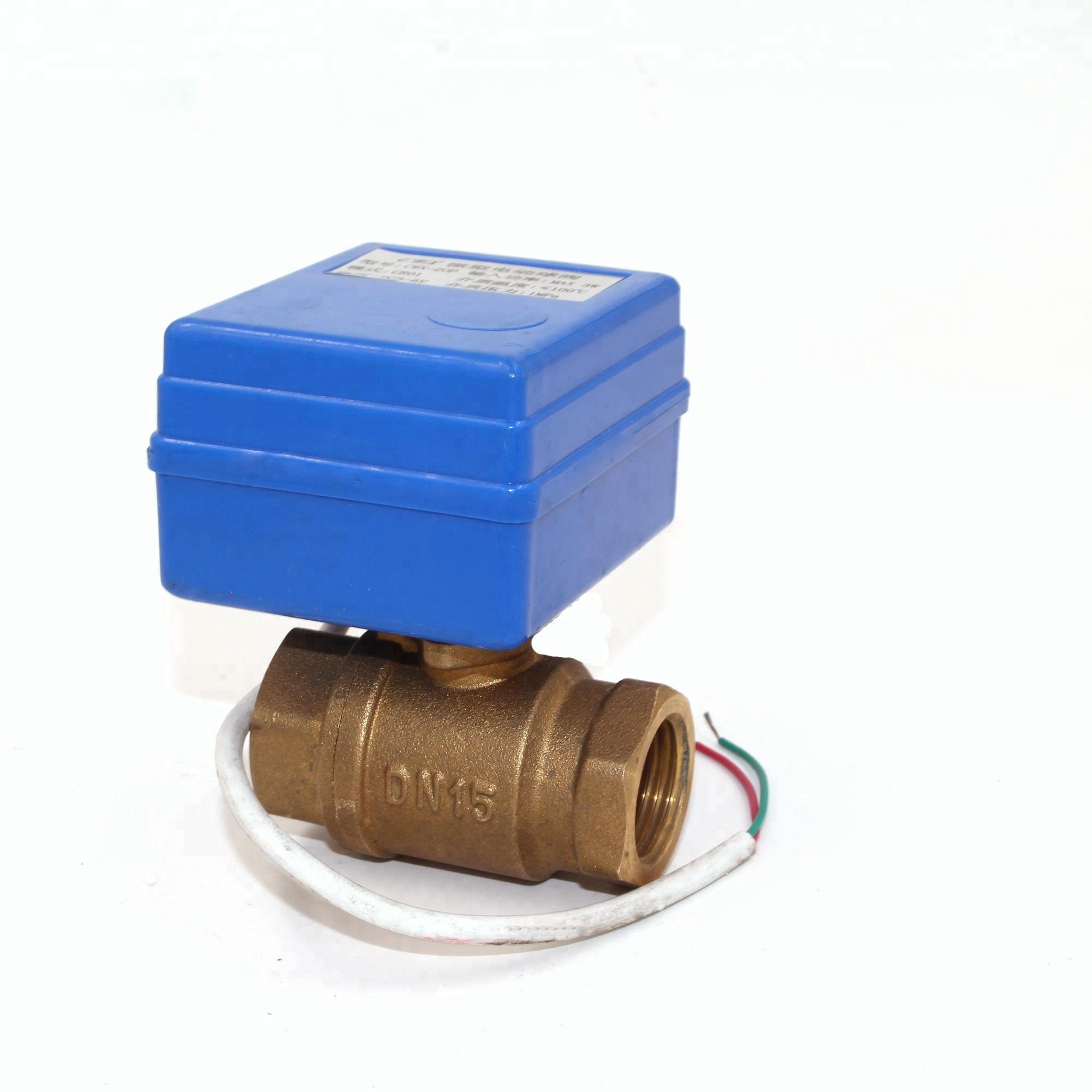 CWX 1 0D 5V 3V 12V mini motorized valve for water strong meter
