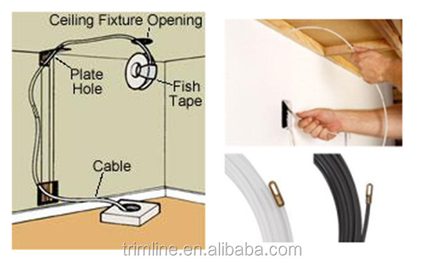 Wire puller buy wire puller nylon wire puller insulation for How to fish wire through insulated wall