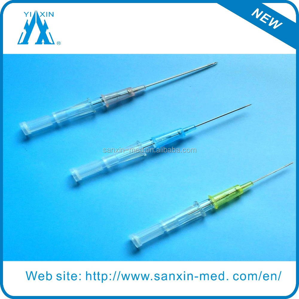 Pen type of IV catheter for single use
