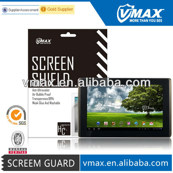Mirror screen laptop protector for asus eee pad transformer prime/tf201
