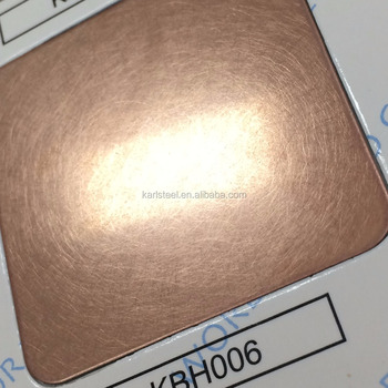 410 Stainless Steel Color KBH006 Hairline Sheet