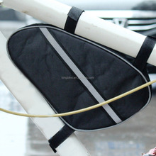 Portable Bicycle Bags bike Triangle Cycling Bike Bicycle Front Tube Frame Pouch Bag Holder Saddle 26 x13 x5cm