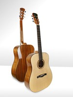 Free shipping best china guitar High grade Handcraft acoustic guitar Solid spruce