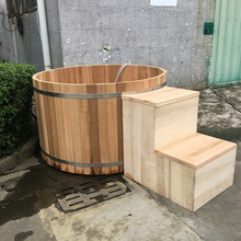 factory outdoor barrel tub and hot tub massage spa