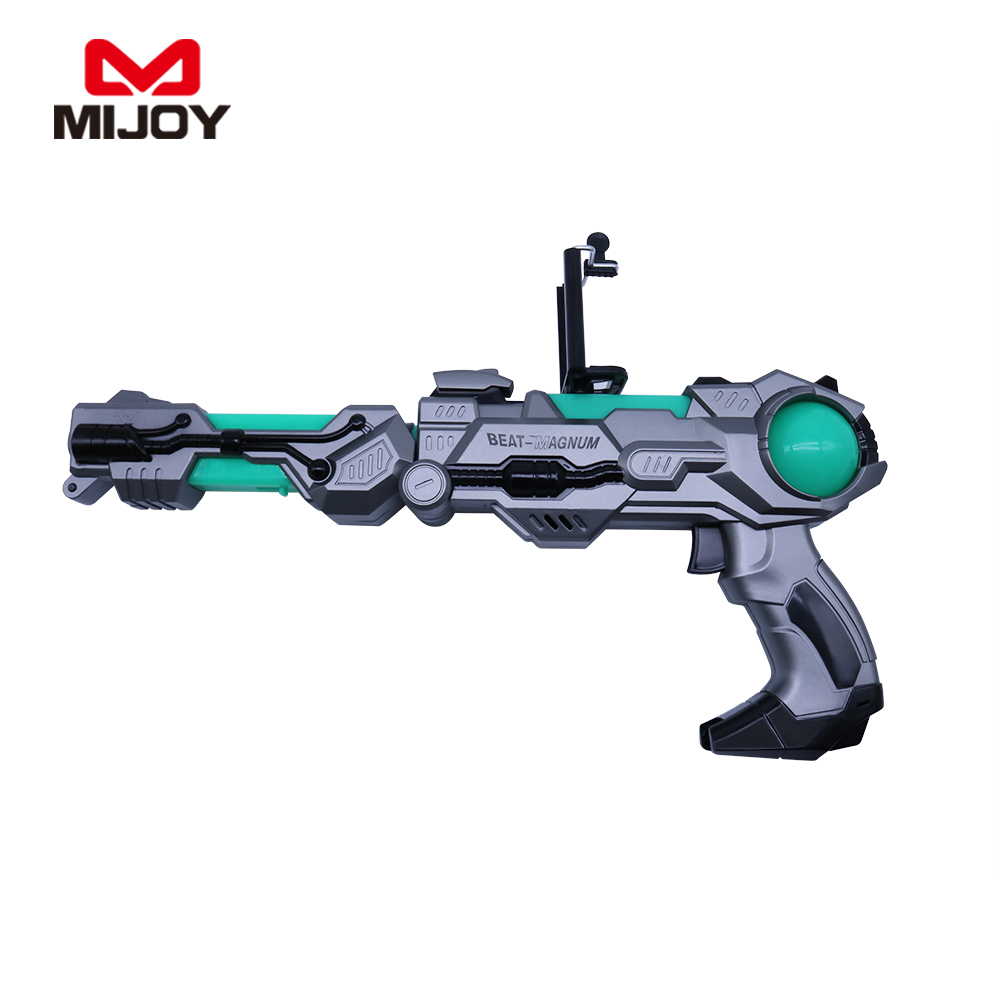 2017 Magic bluetooth ABS Plastic AR Gun 3D Mini AR-Gun games for Children