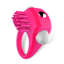 High Quality Sex Products Strong Vibration Silicone penis ring for male
