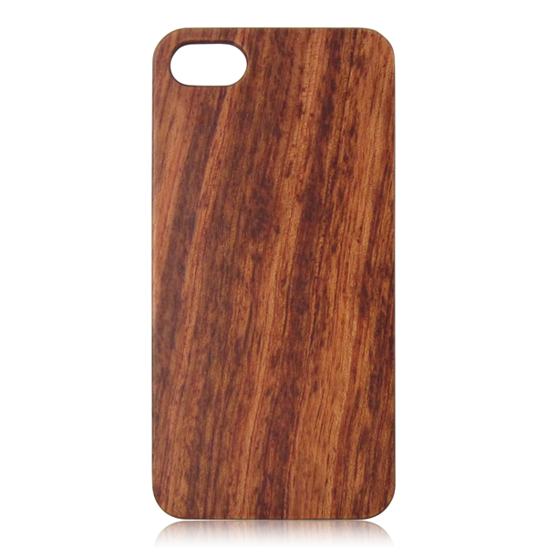Cheap wood phone case PC bottom wood back cover blank wooden case for iPhone 7