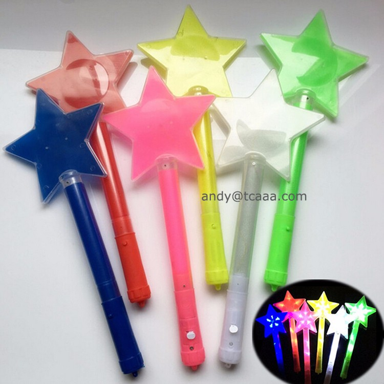 2017 Party supply led foam glow stick inflatable cheering stick concert light stick