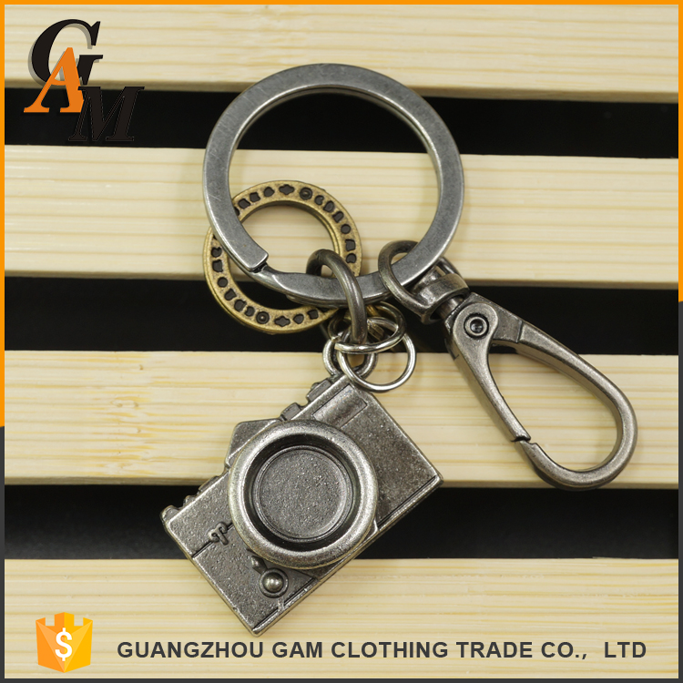 Chrismas gifts promotional oem logo key ring fashion coin holder custom metal leather key chain