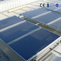 flat plate solar thermal heating panel
