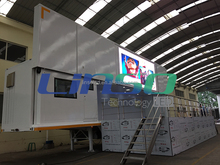 Digital signage video wall truck, led wall display vehicle for sale