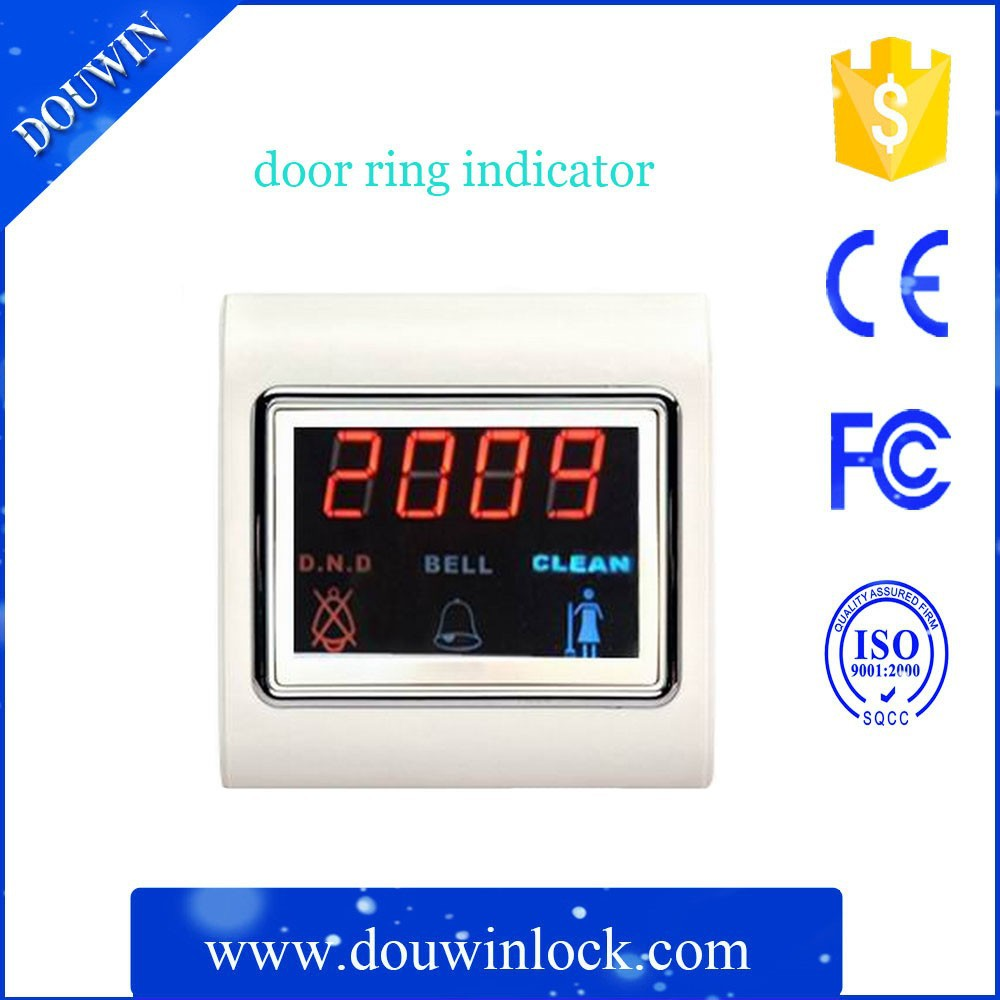 hotel room touch screen Voice wireless doorbell With new disign