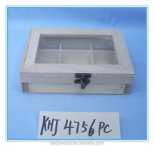 wood material grass cover wooden mint green box