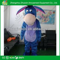 Attractive Colorful movie adult animal cartoon costume