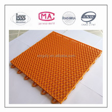 High quality Assembled Sports Floor PP Material for Basketball Court, Volleyball Court.