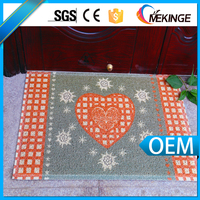 Anti-fatigue colored printed softextile floor mat